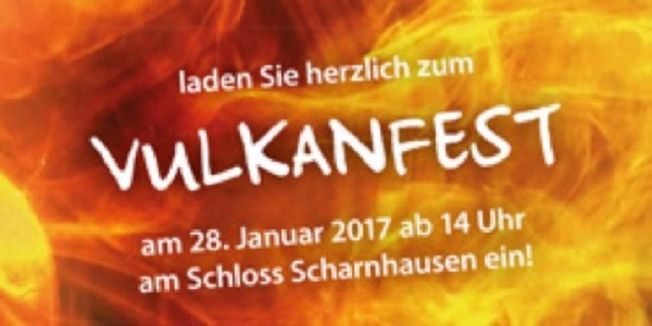 Einladung Vulkanfest
